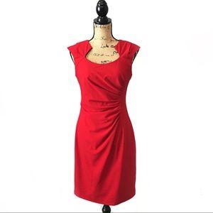 Ellen Tracy Dress Red Size 4